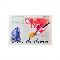 Bloc desen A4 15 file 90 g/mp