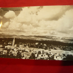 Ilustrata Turda - Vedere panoramica circulat 1963