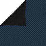 Folie solară plutitoare piscină, negru/albastru, 600x400, PE