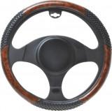 Husa volan Wood XL , material cauciucat, diametru 39-41cm Kft Auto, AutoMax Polonia
