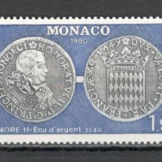 Monaco.1980 Numismatica  MM.782