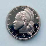 LIBERIA  -  25 Cents 1974  -  PROOF  -  UNC