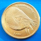 Moorea Island 1 dollar UNC 2019 UNC Nautilus Pompilius