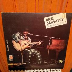 -Y- NICU ALIFANTIS - PIATA ROMANA NR.9   DISC VINIL LP