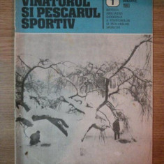 REVISTA ''VANATORUL SI PESCARUL SPORTIV'', NR. 1 IANUARIE 1983