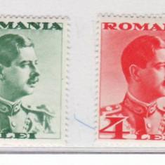 Romania 1934  Carol II -  fara  POSTA