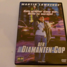 politistul de diamante - dvd