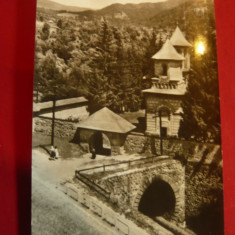 Ilustrata - Schitul Cornetu -Judet Valcea -circulat 1957