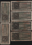 Set / Lot 5000000 drahme Grecia 1944 x 6 / circulate vezi scan, Europa