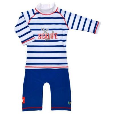 Costum de baie SeaLife blue marime 86- 92 protectie UV Swimpy for Your BabyKids foto