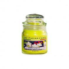 Lumanare parfumata The Premium Small Vanilla e Frutti