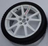 Roata rezerva Skoda VR 5 x 100 17 janta cauciuc Dunlop Audi Seat Subaru VW