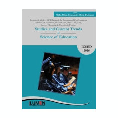 Studies and Current Trends in Science of Education. ICSED 2016 - Otilia CLIPA, Constantin-Florin DOMUNCO (coordonatori)