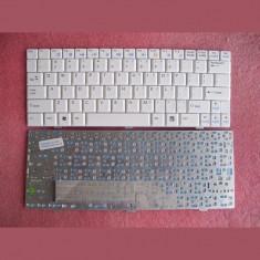 Tastatura laptop noua MSI U90 U100 WHITE US