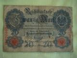 20 Mark / Marci 1910 si 50 Mark / Marci 1914 GERMANIA - Lot de 2 Bucati