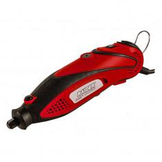 Mini freza Raider RD-MG06D, 135 W, 33000 rpm, 0.8 - 3.2 mm, arbore flexibil, 210 accesorii