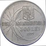 Romania,  500 lei 1999_eclipsa * cod 22