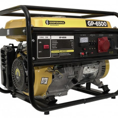 GENERATOR CURENT ELECTRIC - GP-6500 - BENZINA - TRIFAZIC - 5500W - MTO-PMP0030.1