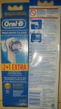 Set Oral B braun de 3 rezerve precision clean (nou), Oral-B