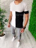 Tricou slim fit -  tricou barbati - tricou fashion - A5277