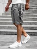 Cumpara ieftin Pantaloni scurți gri bărbați Bolf JX381
