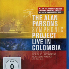 Alan Parsons Symphonic Project Live In Colombia (bluray)