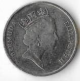 Moneda 5 cents 1997 - Bermuda