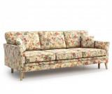 Canapea extensibila 3 locuri Juliett Femme - Optisofa, Crem
