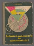 C9763 - TEHNICA MASURARII IN AUTOMATIZARI - S. POPESCU