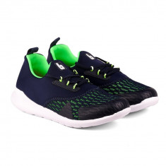 Pantofi Sport Baieti Bibi Easy Bleumarin/Verde