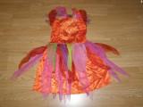 Costum carnaval serbare zana fluture pentru copii de 5-6 ani, Din imagine