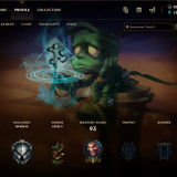 League of Legends EUNE level 33, Silver III , 23 de campioni si 4 skinuri