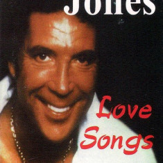 Caseta  Tom Jones ‎– Love Songs , originala, holograma