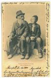 2939 - CERNAUTI, Jew Family, Bucovina - old postcard - used - 1904, Circulata, Printata