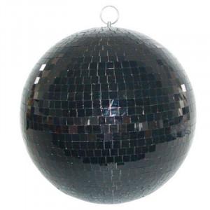 Glob cu oglinzi Madison, 30 cm, negru