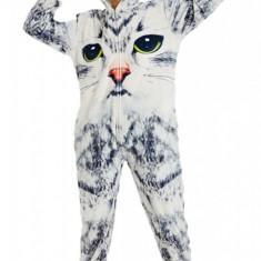 PJM168-1822 Pijama intreaga kigurumi, model pisica