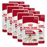 Cumpara ieftin Pliculeț Royal Canin Medium Adult 10 x 140 g