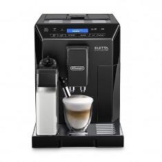 Espressor automat DeLonghi Eletta ECAM 44.660.B, 1450 W, 15 bar, 2 l, carafa lapte, display LCD, negru