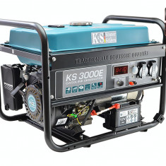 Generator curent KS 3000E Könner & Söhnen Germany, 3.0 kW, benzina, E-start