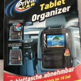 Organizator spatar scaun auto cu prindere pentru tableta