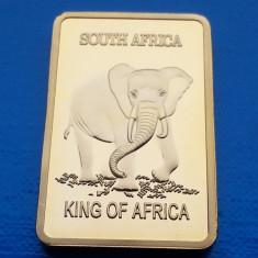 Lingou Auriu Africa de Sud Elefant - Antilopa UNC