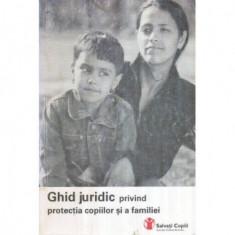 Ghid juridic privind protectia copiilor si a familiei