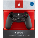 Controller Wireless Spartan Gear Ksifos Pc Negru