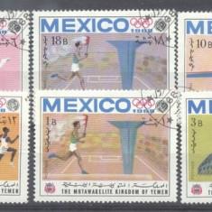 Yemen 1968 Sport, Olympics, used AM.032