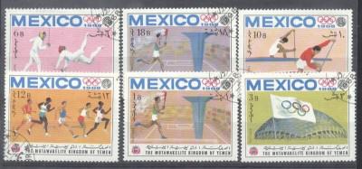 Yemen 1968 Sport, Olympics, used AM.032 foto