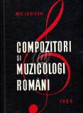 Compozitori si muzicologi romani - Mic lexicon