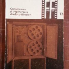 Conservarea si regenerarea dia-foto-filmelor – Gheorghe Radu