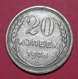 A5599 Rusia 20 kopecks kopeks 1928