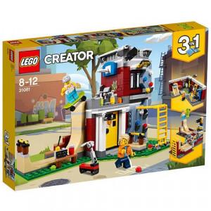 Set de constructie LEGO Creator Skatepark Modular