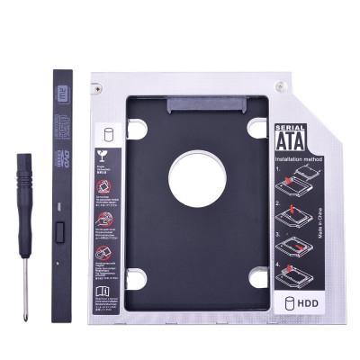 Adaptor HDD/SSD caddy rack suport pt unitate optica laptop 9.5mm SATA 3 foto